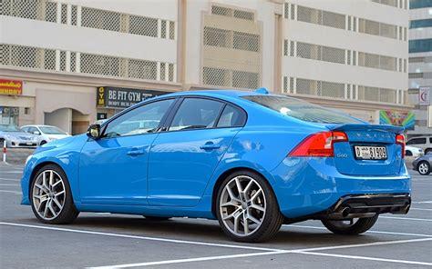 volvo s60 blue volvo s60 polestar review a rebel in blue drivemeonline