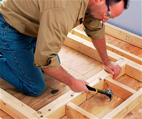 Framing An Interior Doorway How To Install House Doors How To Build Door Frame Interior