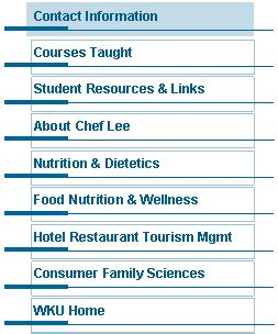 Mba Nutrition by Contact Information