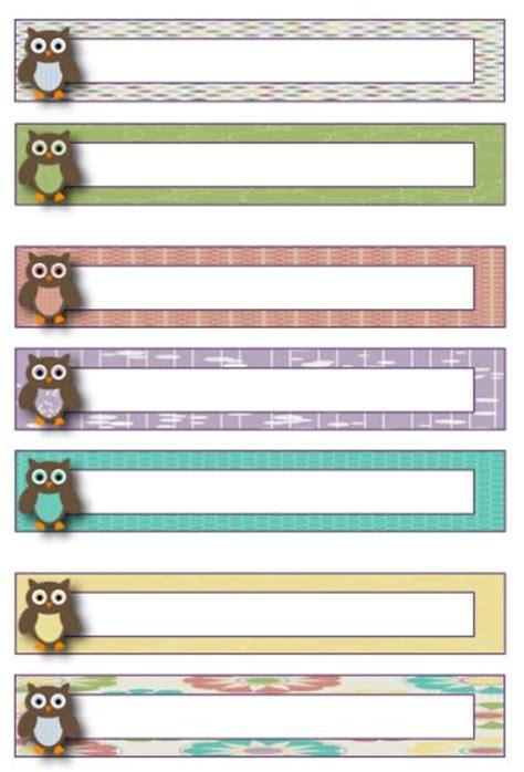 file folder label template owl theme blank file folder label template freebie http