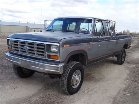 ford f350 crew cab for sale 1986 ford f350 xl crew cab 4x4 460 v8 for sale