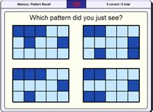 pattern recall test dr gareth moore s brainedup brain training games and