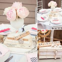 oh one day beautiful bridal shower ideas