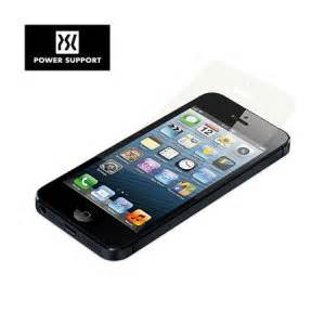 Powersupport Iphone 5s Screen Protector Anti Glare 2front power support anti glare set for iphone 5s 5 front