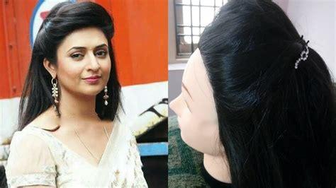 divyankana tripathy hair style 2 divyanka tripathi ishita bhalla inspired front puff