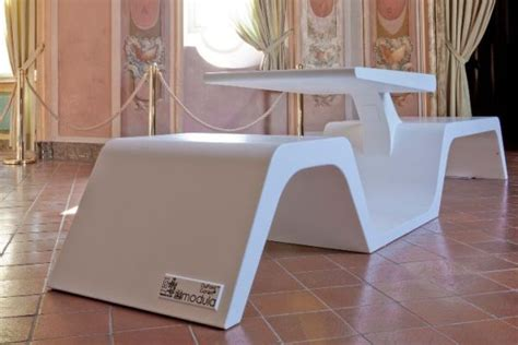 wifi bench minimalist wi bench also acts a wireless recharging center