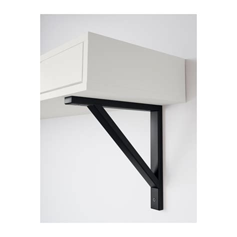 ekby valter ekby alex shelf with drawer white black 119x28