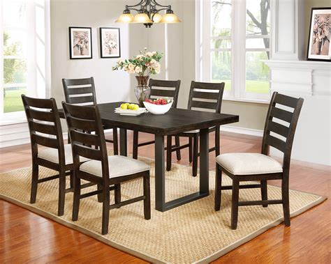 The Brick Dining Room Sets Aran 7 Casual Dining Package The Brick The Brick Dining Room Sets The Brick Dining Room