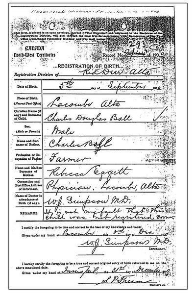 Birth Records Alberta Alberta Vital Records National Institute Genealogy Familysearch Wiki