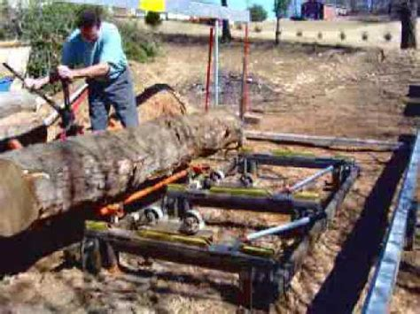 swing blade saw mill swing blade sawmill support equipment part iii youtube