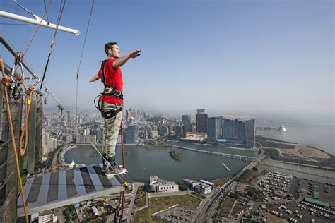 best bungee jumping experiencing the world s highest bungee in macau review