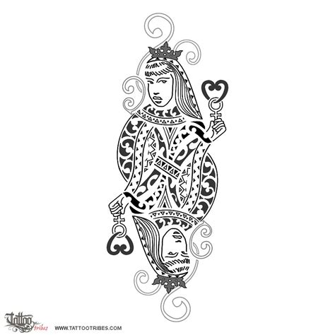 queen of hearts tattoo meaning 1000 images about symbols maori general on