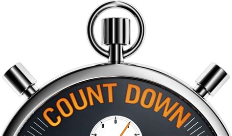 Countdown Clipart