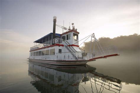 boat ride branson landing branson landing historical paddleboat rides narrated