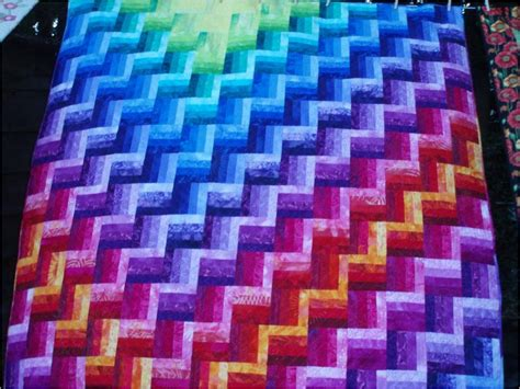 Northern Lights Quilt Pattern Free by Quilt Inspiration Simple Dimensional Shapes Joen