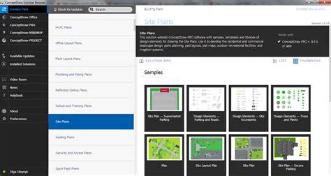 site plan software site plans solution conceptdraw com site plan