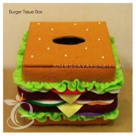 Box Tissue Kecil 2 guava handicraft kotak tisu kecil burger