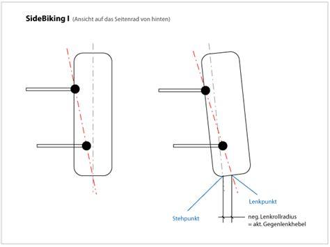 Motorradgespann Geometrie by Dreiradler Thema Anzeigen Sidebiking I Lenkrollradius