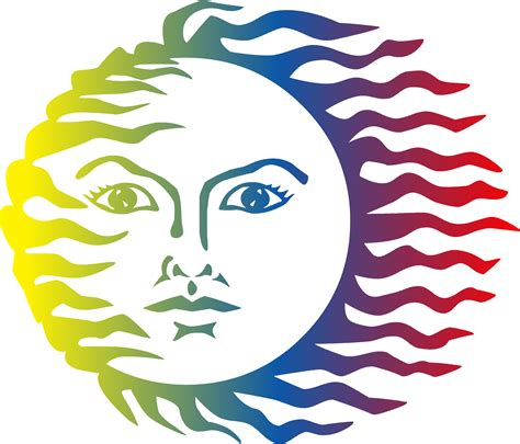 colorful sun clipart colorful sun