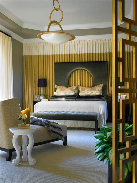 gray and gold bedroom photos hgtv