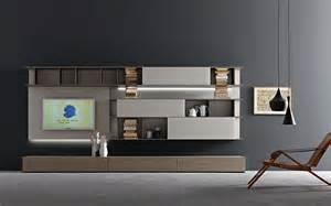 Tv Furniture Modern by Tv Wand Lampo L2 33 Design Wohnwand