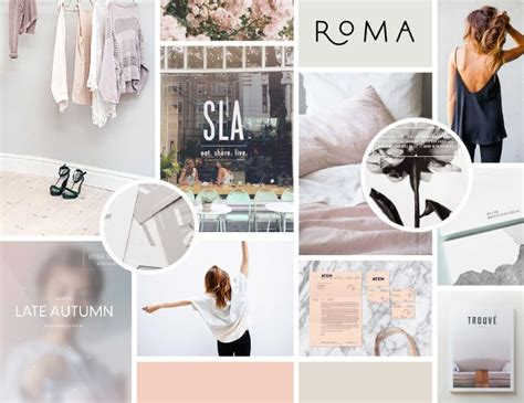 18 graphic design color mood images graphic design color moodboard feminine soft and modern from tara victoria