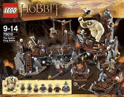 Toys Lego The Hobbit The Battle Of The Five Armies 79020 lego the hobbit 79010 the goblin king battle mattonito