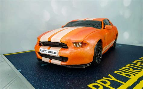 remote controlled mustang fully working remote car cake mustang gt500