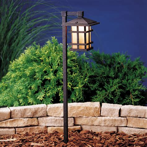 Kichler 15322agz Cross Creek 12v Path Spread Light Kichler Outdoor Landscape Lighting