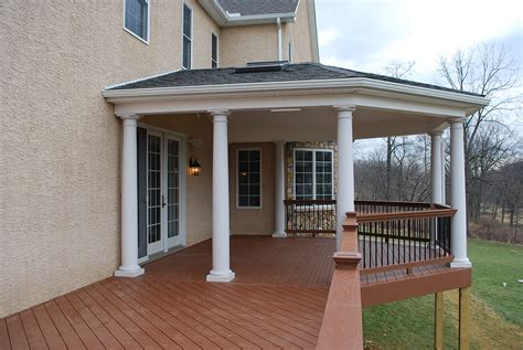 porch roof plans how to cover your deck patio or porch for any price by