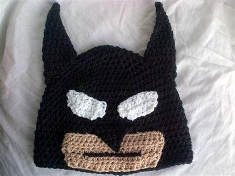knitted batman hat 25 best crochet hats images on
