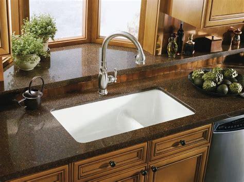 kitchen sinks undermount why undermount kitchen sinks are preferred designwalls com