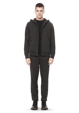 Sweater Pria Fleece Jaket Zipper Hoodie Distro Infcl Eklusif wang sleeve hooded neoprene sweatshirt jackets and outerwear official site