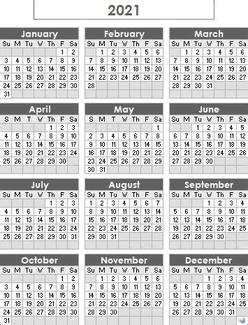 printable  calendar excel word monthly template holidays    images