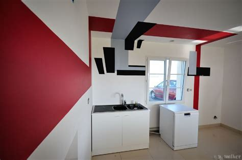 peinture tapisserie deco peinture salon design