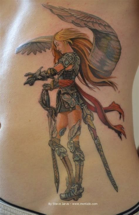 pinterest tattoo warrior warrior angel tattoos angel warrior tattoo steve jarvis