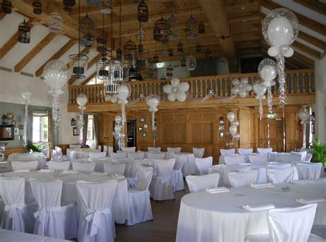 Dekoration Hochzeitssaal by Hochzeiten Pittsballoon