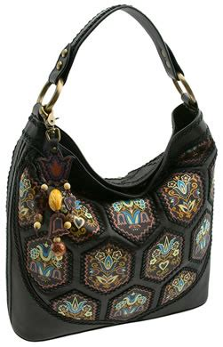 Fiore Folktale Large Hobo Bag fiore folktale large hobo bag