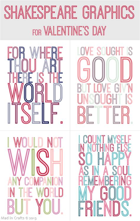printable shakespeare quotes shakespeare quote valentine s day printables free