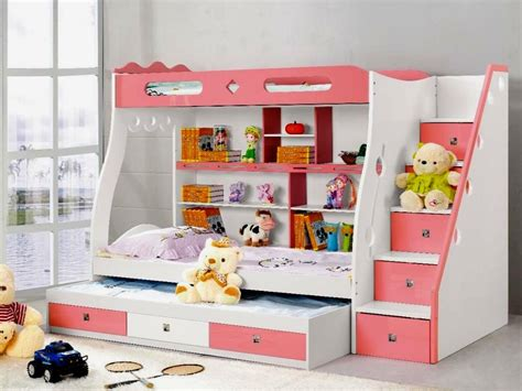 girls bunk beds with storage girls bunk beds with stairs loft bed kids room diy girls