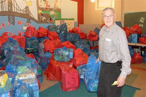 the salvation army distributes christmas support hers