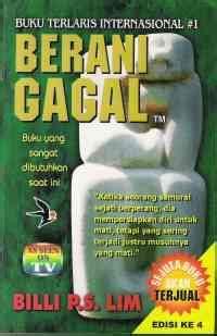 Berani Gagal To Fail Billi Lim berani gagal sebuah resensi buku