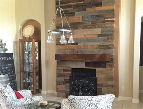 reclaimed wood and stone fireplace wall 15 diy reclaimed wood and pallet fireplace surrounds