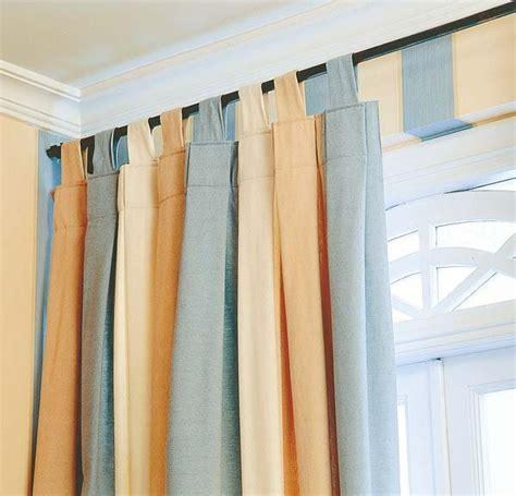 como hacer cortinas con trabillas c 243 mo colgar las cortinas mi casa