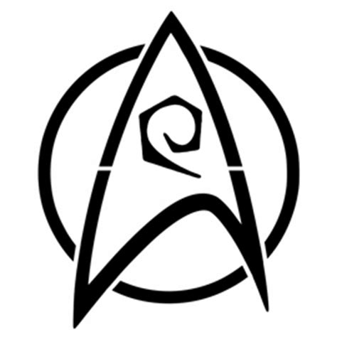 printable star trek badge star trek engineering insignia stencil free stencil