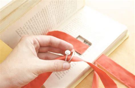 porta a libro fai da te diy dieci portafedi fai da te wedding