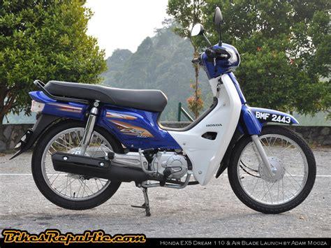 Cover Motor Honda Blade New Anti Air 70 Murah Berkualita honda ex5 and air blade launch and test ride bikesrepublic