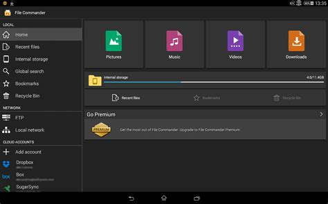file commander apk file commander file manager apk free android app appraw
