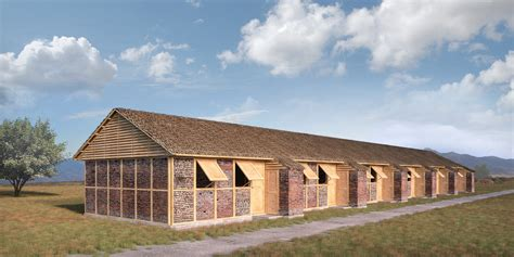 Parutan Multipungsi shigeru ban s nepalese emergency shelters to be built from rubble archdaily