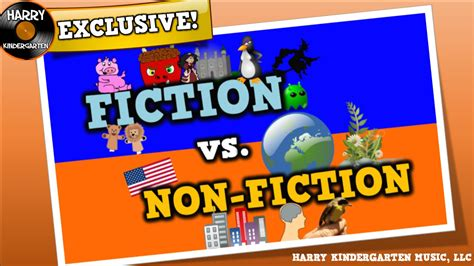 non fiction fiction vs non fiction song for kids about